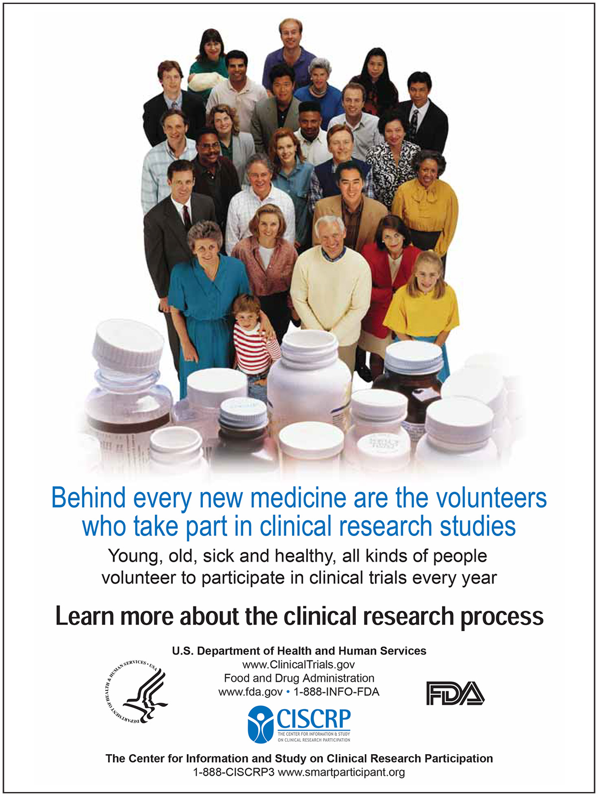Volunteers Who Take Part in Clinical Research