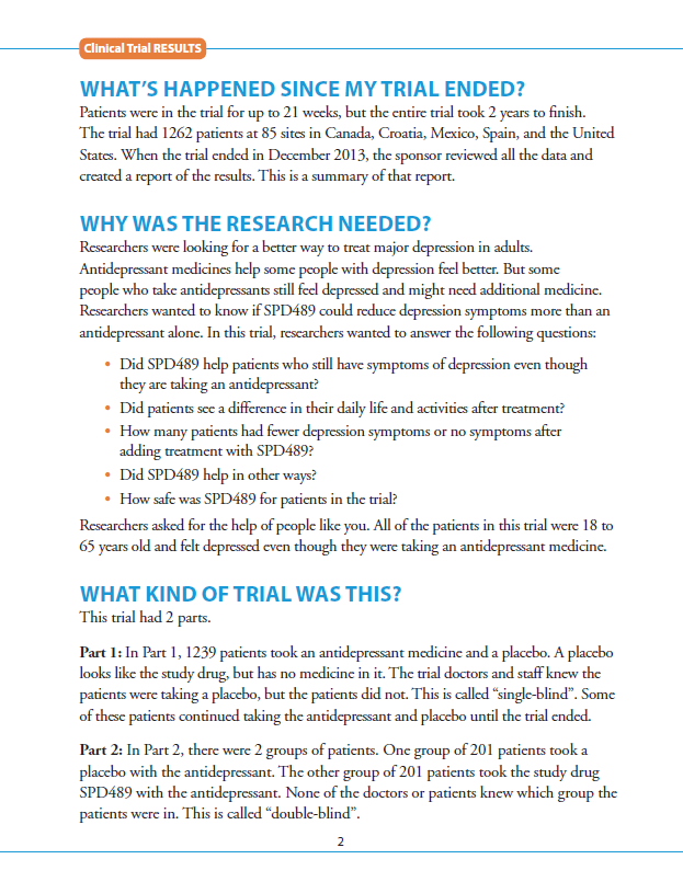what is a summary trial