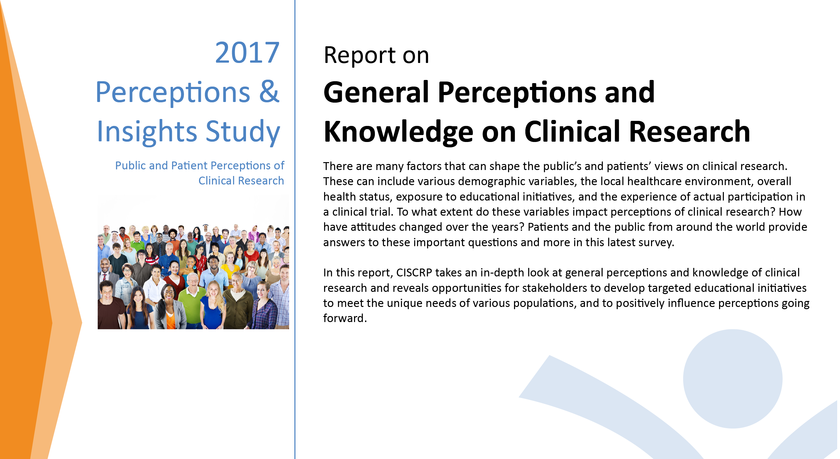 Perceptions and Insights Study – Center for Information