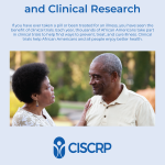 African Americans and Clinical Research