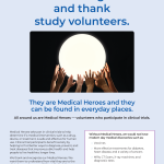 Let Us Recognize and Thank Study Volunteers