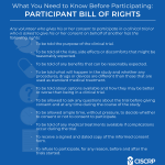 Participant Bill of Rights