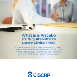 What is a Placebo Controlled Clinical Trial
